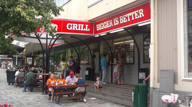 Korv Göran grill / Bigger is better